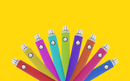 New Colorful E-cigs